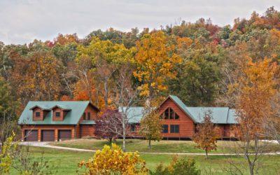 Fall Log Home Maintenance