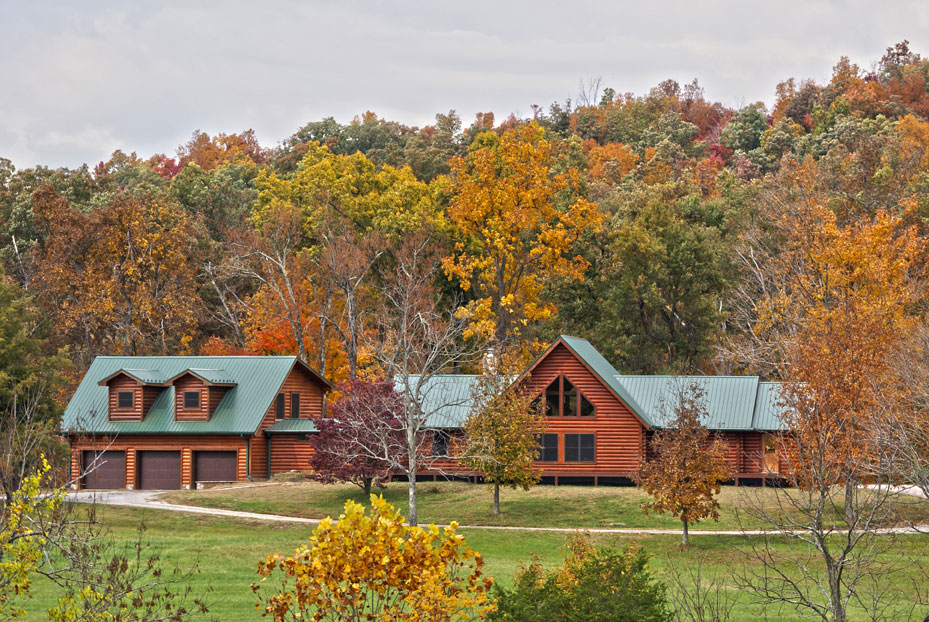 Fall Log Home Maintenance